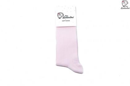 calcetín alto rosa niña niño bebé