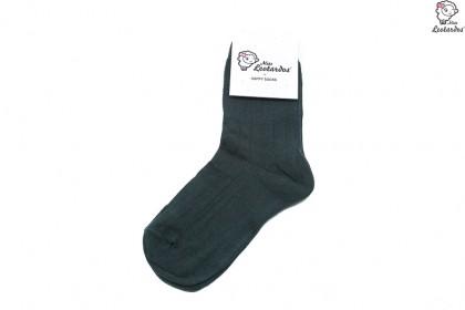 Calcetines cortos para niña/niño Verde Botella