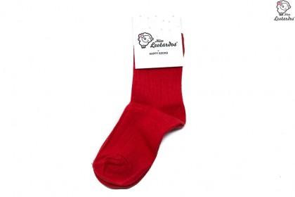 Calcetines cortos para niña/niño ROJO