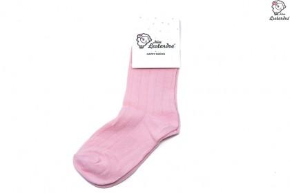 calcetín corto rosa niña niño bebé