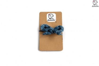 goma pelo pequeña azul degrade