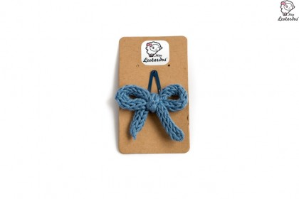 horquilla clip azul