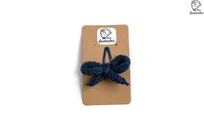 horquilla clip azul marino
