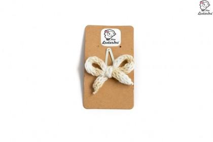 horquilla clip marfil degrade