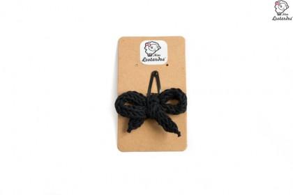 horquilla clip negro
