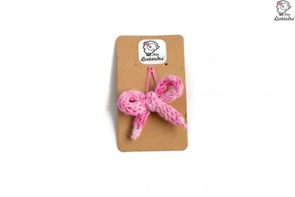 horquilla clip rosa degrade