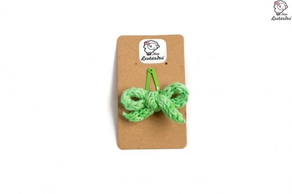horquilla clip verde degrade