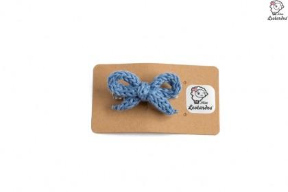 horquilla cocodrilo azul