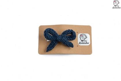 horquilla cocodrilo azul marino