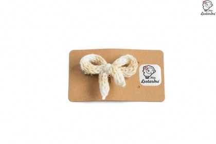 horquilla cocodrilo marfil degrade
