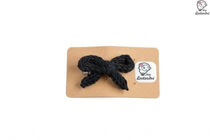 horquilla cocodrilo negro