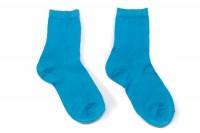 Calcetines niña/niño Hilo de Escocia Turquesa