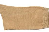Calcetines niña/niño Hilo de Escocia CAMEL